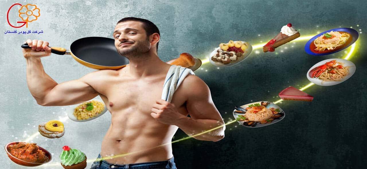 افزایش وزن و تغذیه