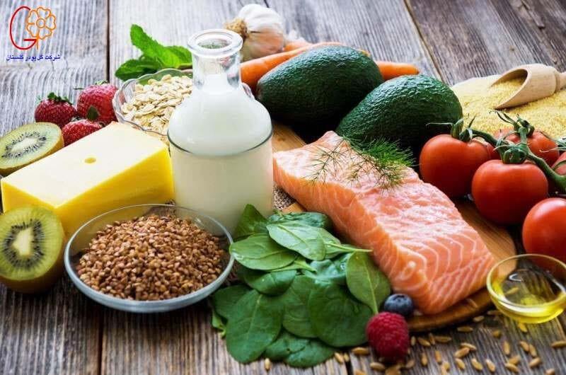 سلامت بدن با رژیم غذایی مناسب