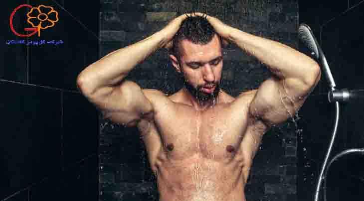 ریکاوری کردن عضلات با دوش آب